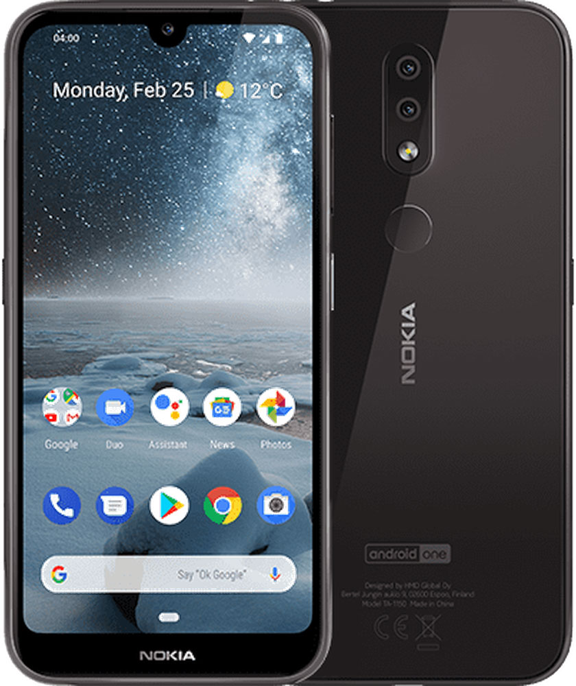 Смартфон Nokia 4.2 3/32 Gb Black фото