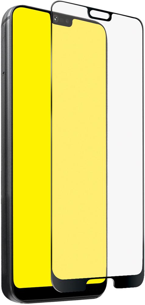 Стекло защитное SBS Huawei P20 Lite 2.5D черная рамка