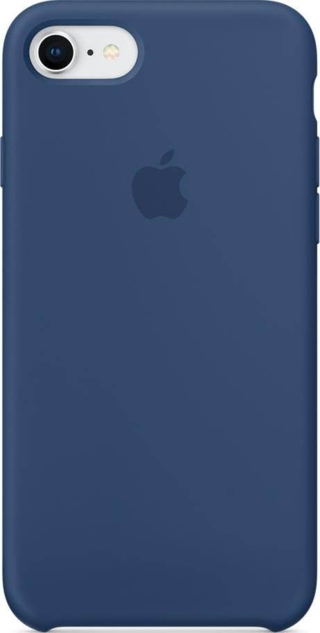 Клип-кейс Apple iPhone 8/7 силиконовый Blue цена 2017