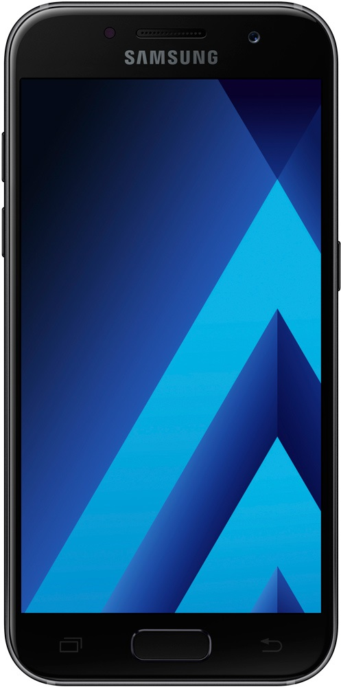 Смартфон Samsung Galaxy A3 (2017) SM-A320F/DS Black