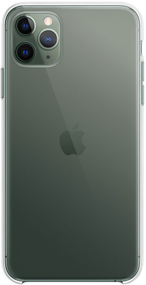 Клип-кейс Apple iPhone 11 Pro Max MX0H2ZM/A прозрачный фото