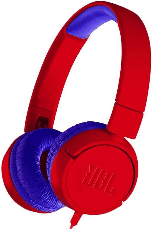 цена на Наушники JBL JR300 накладные Red