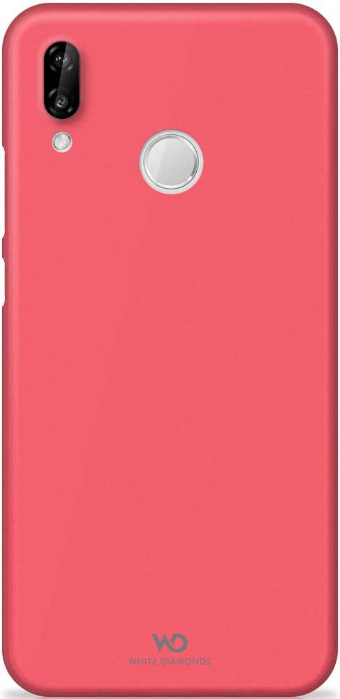 Клип-кейс White Diamonds Huawei P20 Lite тонкий пластик Red клип кейс deppa huawei y5 lite tpu прозрачный