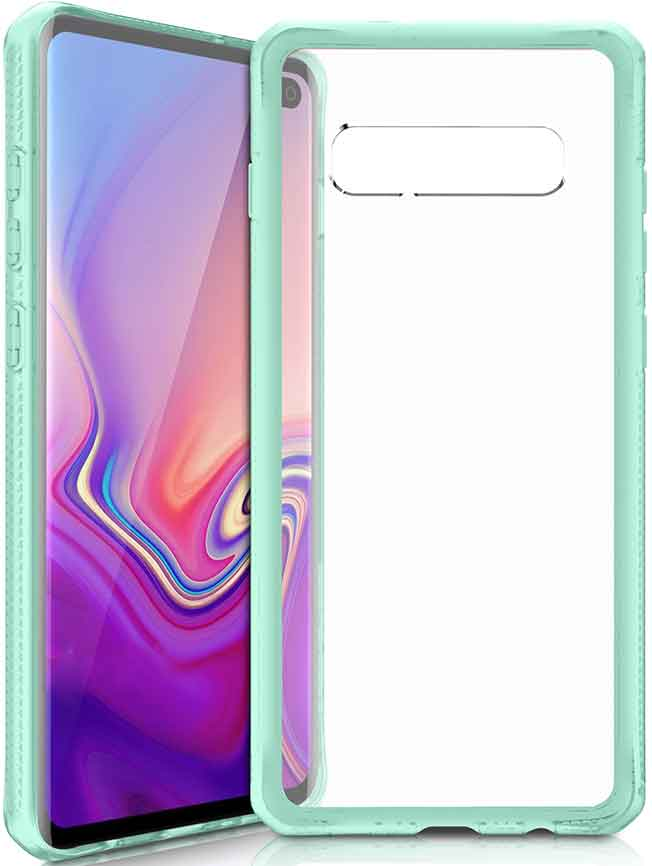 Клип-кейс Itskins Samsung Galaxy S10 Plus Green клип кейс uniq samsung galaxy s10 plus black