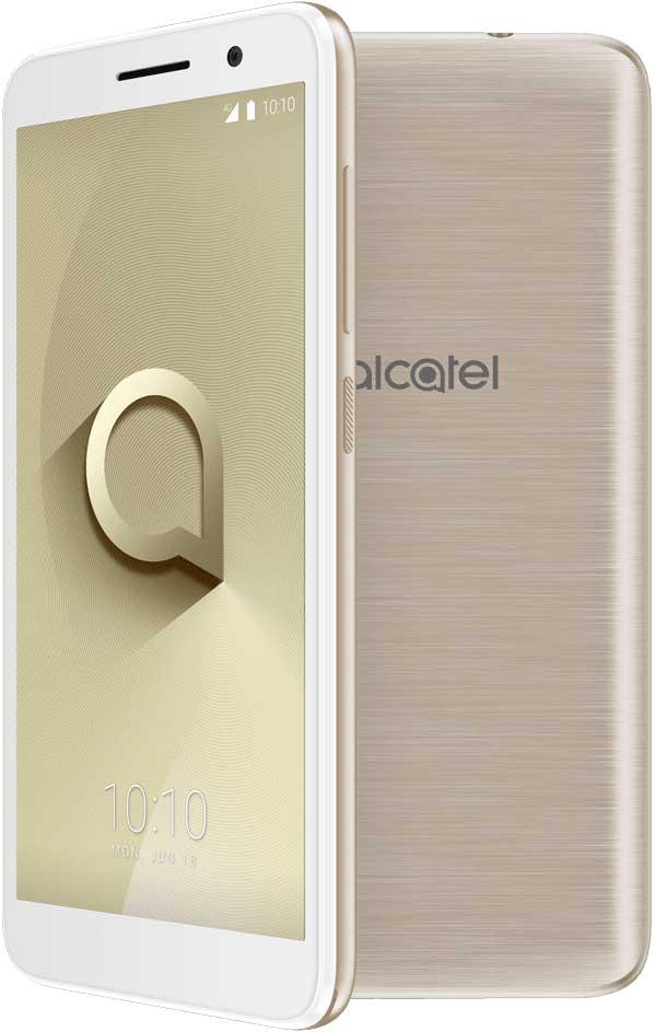 Смартфон Alcatel 1 5033D 8Gb Gold смартфон alcatel 1 5033d 8 гб черный
