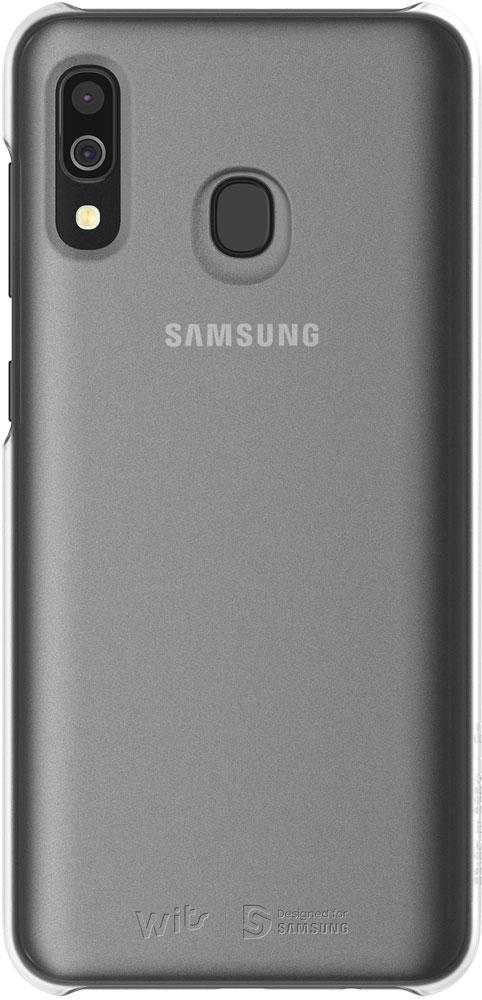 Клип-кейс WITS Samsung Galaxy A30 GP-FPA305W Silver