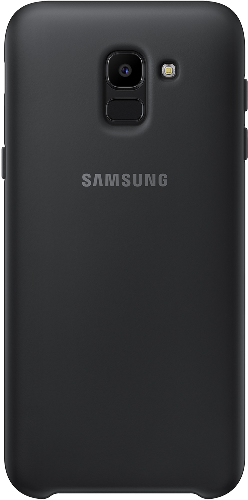 Клип-кейс Samsung Samsung Galaxy J6 Dual Layer Cover Black (EF-PJ600CBEGRU) клип кейс samsung samsung galaxy j6 dual layer cover black ef pj600cbegru