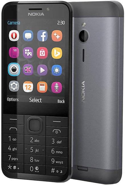 Мобильный телефон Nokia 230 Dual Sim Dark Silver фото