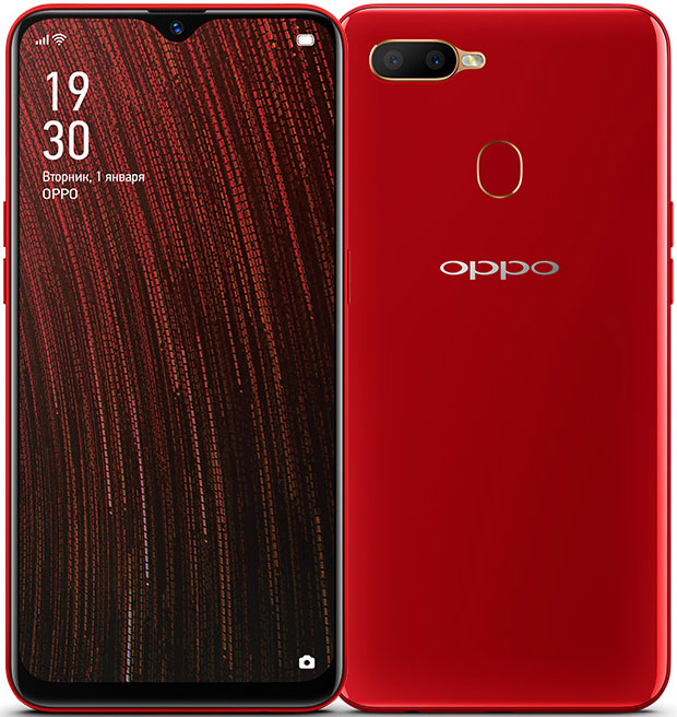Смартфон OPPO A5s 3/32 Gb Red фото