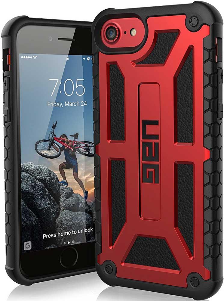 Клип-кейс UAG Monarch iPhone 8/7/6 Red назначение iphone x iphone 8 iphone 7 iphone 6 кейс для iphone 5 чехлы панели с узором задняя крышка кейс для цветы мягкий термопластик