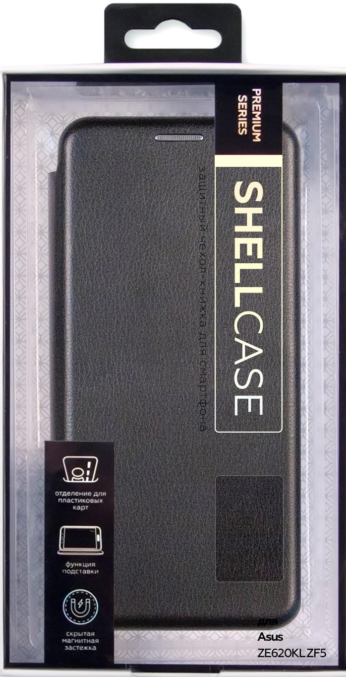 Чехол-книжка Smarterra ShellCase для Asus ZE620KL ZF5 black аксессуар чехол zibelino для asus zenfone 5 ze620kl book black zb asus ze620kl blk