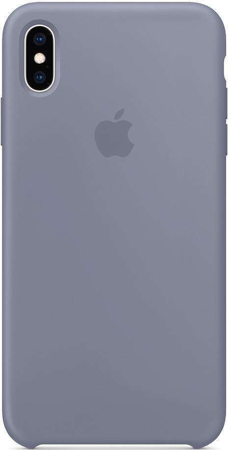 Клип-кейс Apple iPhone XS Max силиконовый MTFH2ZM/A Lavender