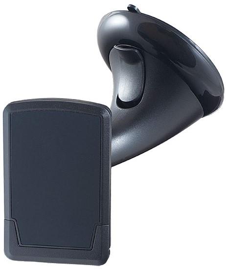 цена на Держатель автомобильный Perfeo 510 магнитный жесткая штанга Black