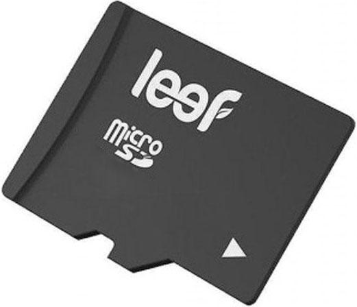 Карта памяти MicroSDHC Leef 64Gb Class 10 Black без адаптера карта памяти leef microsdhc class 10 8gb