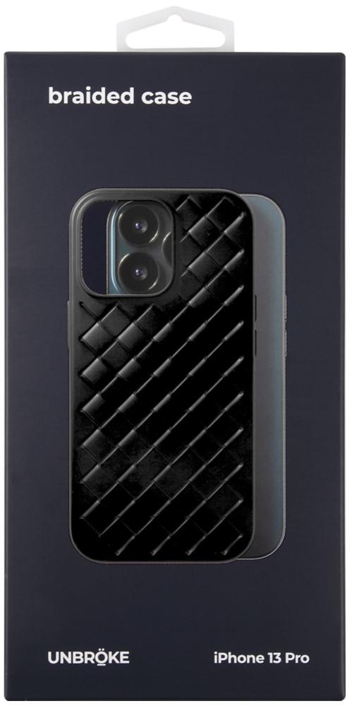 Клип-кейс UNBROKE iPhone 13 Pro Braided Black фото 3