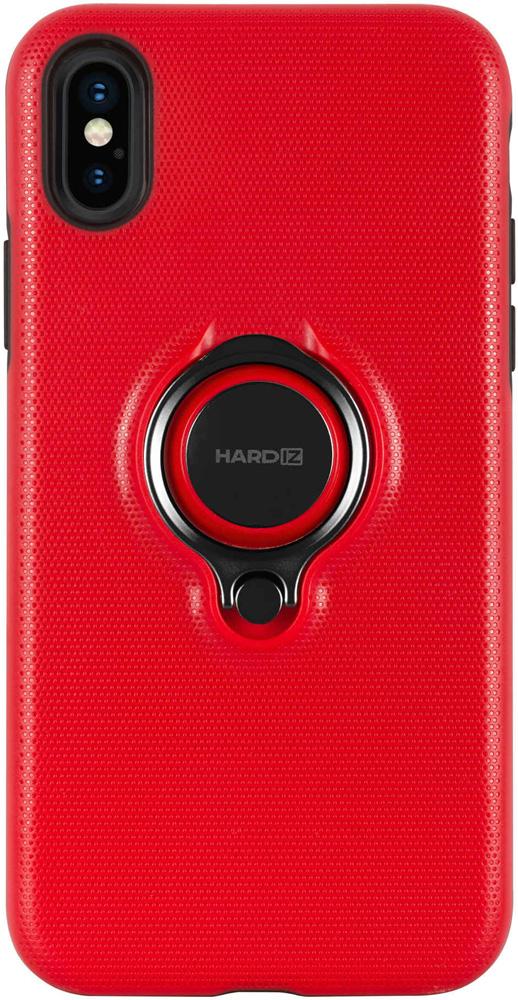 Клип-кейс Hardiz Apple iPhone XS Urban с кольцом Red