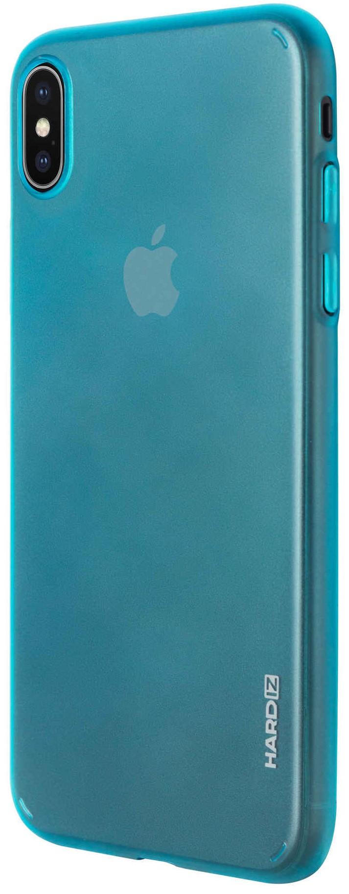 Клип-кейс Hardiz для Apple iPhone XS Max тонкий пластик LightBlue клип кейс uniq apple iphone xs max тонкий пластик позрачный