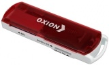 фото Кардридер Oxion OCR004RD поддержка форматов SD, SDHC, RS MMC, Micro SD, M2, MS PRO Duo, Mini sd до 64Gb USB 2.0 red