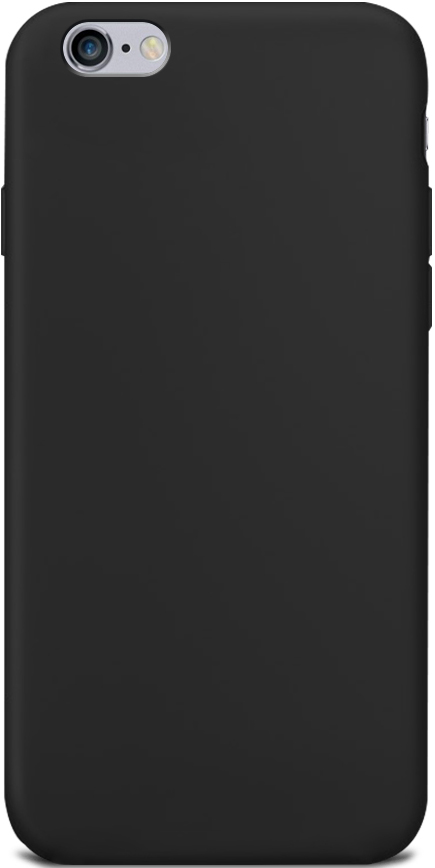 Клип-кейс Gresso Apple iPhone 6/6S TPU Black клип кейс gresso мармелад для htc desire 728 черный