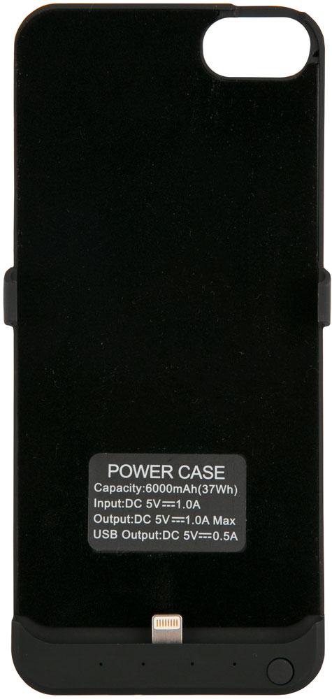 Чехол-аккумулятор RedLine slim iPhone 6 /6S/7 6000 mAh Black стоимость