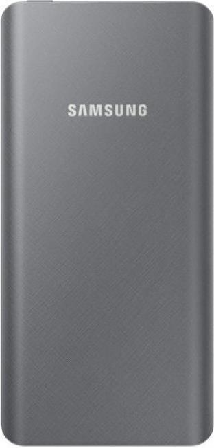 Внешний аккумулятор Samsung EB-P3000CSRGRU 10000 mAh с переходником Type-C Silver-Grey аксессуар аккумулятор samsung i9300 2100 2000 mah aksberry eb lig6llu