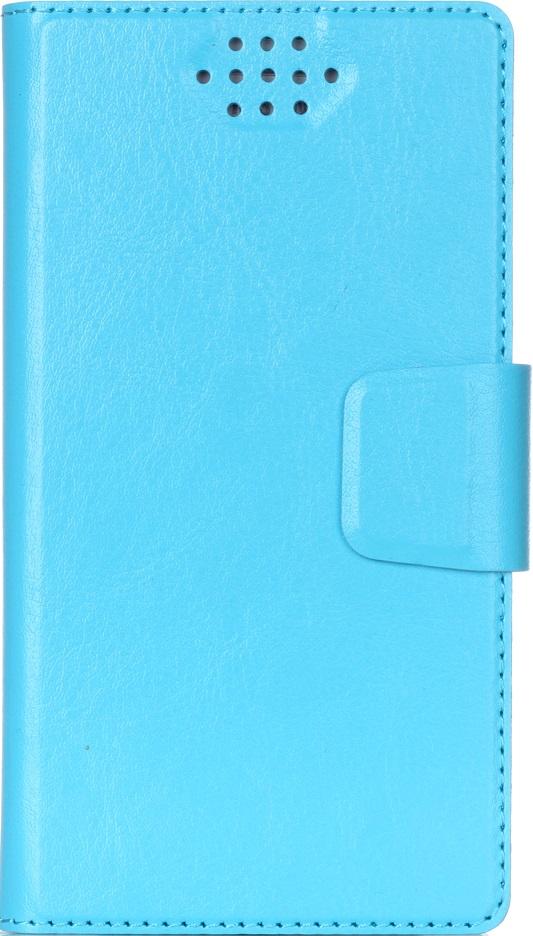 """Чехол-книжка Vili универсальный размер M 4,3-5,5"""" Blue"""