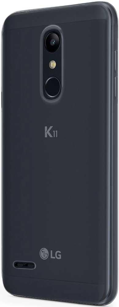 Клип-кейс Vipe Color LG К11/К11 Plus прозрачный