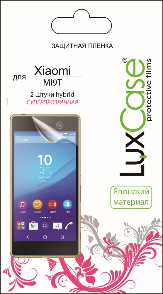 Пленка защитная LuxCase Xiaomi MI9T Hybrid прозрачная (2 шт) все цены