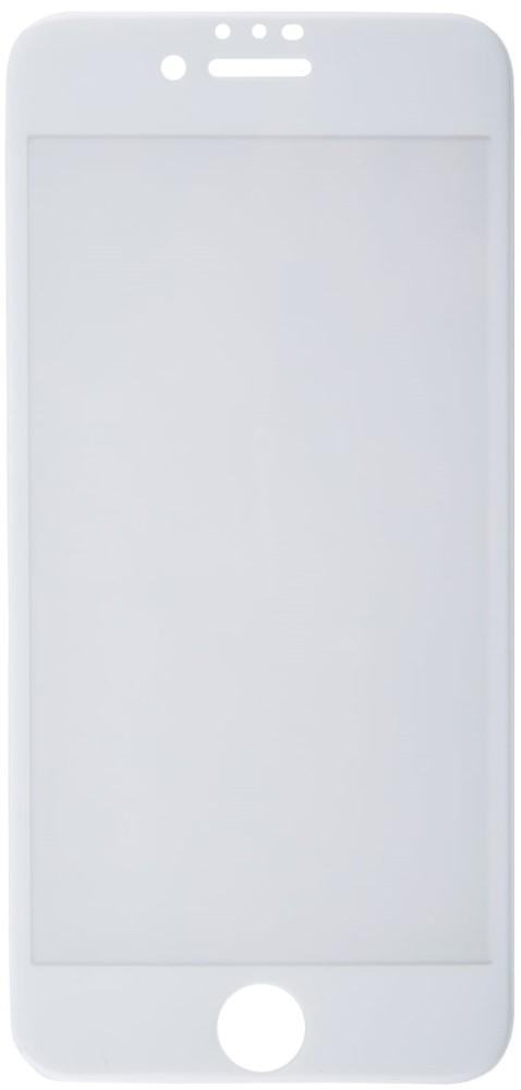 Стекло защитное RedLine, iPhone 8/7/6 F3D белая рамка, стекло защитное, 0317-2629  - купить со скидкой