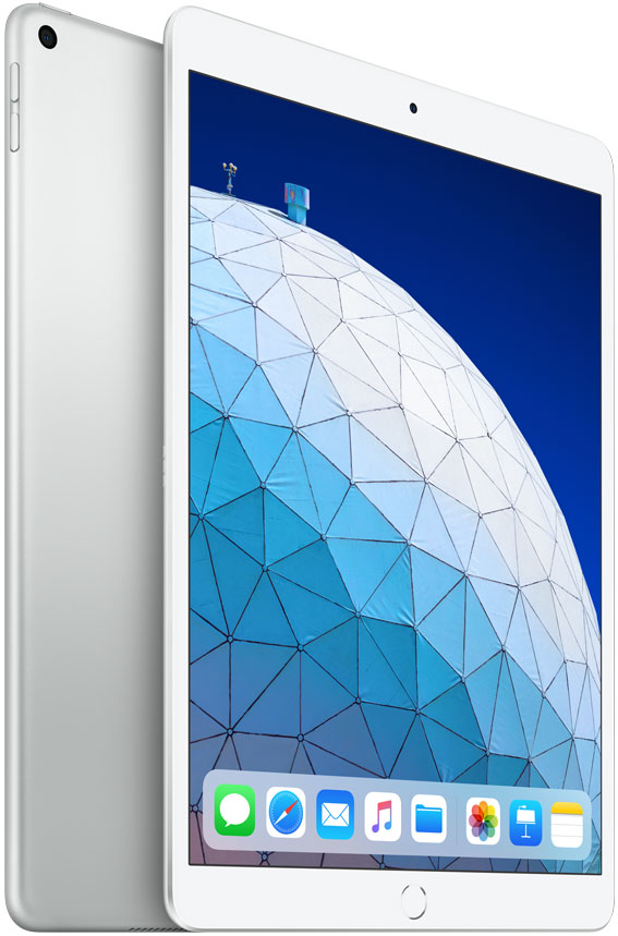 Планшет Apple iPad Air 2019 Wi-Fi 10.5 64Gb Silver (MUUK2RU/A) планшет