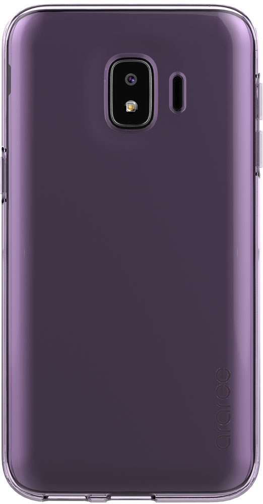 Клип-кейс Samsung Galaxy J2 Core GP-J260K Purple чехол клип кейс samsung для samsung galaxy j2 core jelly cover черный gp j260kdcpaib