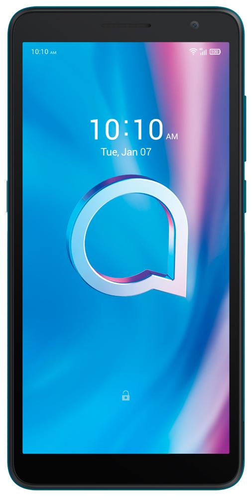 Смартфон Alcatel 1B 5002D 2/16Gb Blue смартфон alcatel 1b 5002d 2 16gb blue