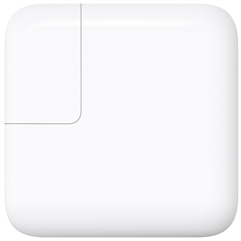 СЗУ Apple 29W USB-C Power Adapter White (MJ262Z/A) сетевое зарядное устройство apple 29w to usb type c power adapter белый mj262z a