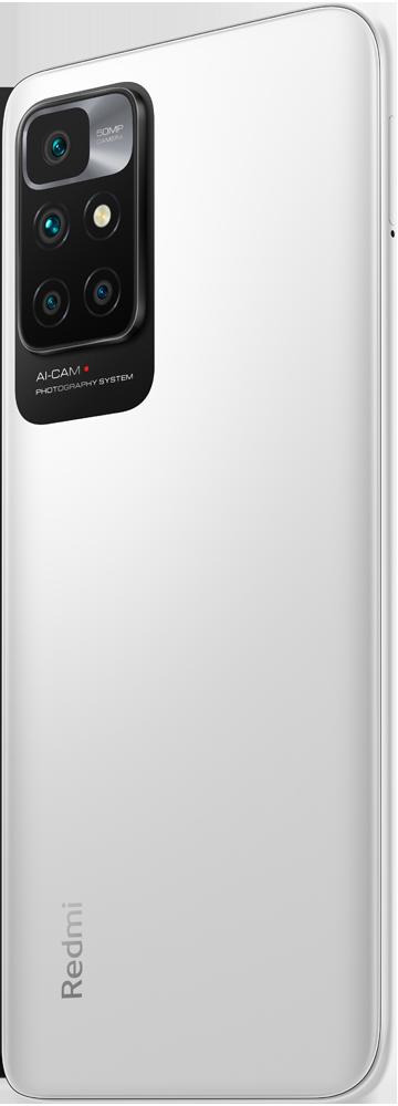 Смартфон Xiaomi Redmi 10 4/128Gb White фото 7