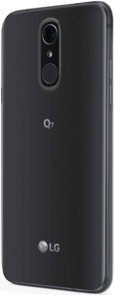 Клип-кейс Vipe Color LG Q7/Q7 Plus прозрачный смартфон lg q7 q610nm 32gb black