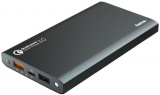 фото Внешний Аккумулятор Hama Premium Alu 12000 mAh Qualcomm Quick Charge 3.0 Dark Grey
