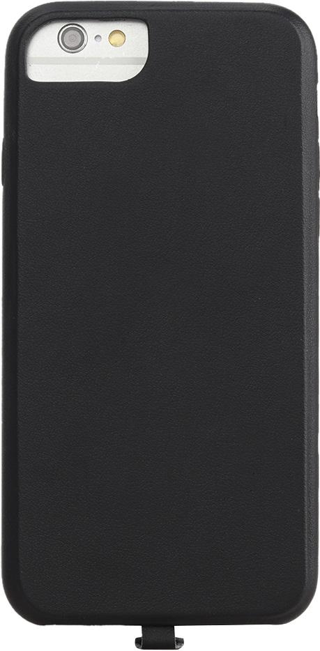 Чехол Vili для беспроводной зарядки iPhone 6/6s/7 искусcтвенная кожа Black набор для зарядки iphone 5 6 7 2 в 1 черный