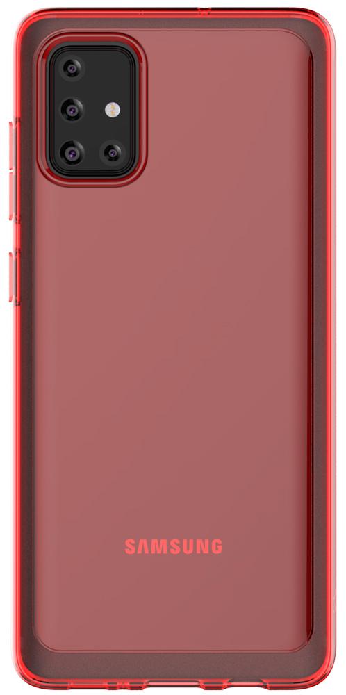 Клип-кейс Araree Samsung Galaxy A71 Red (GP-FPA715KDARR) фото