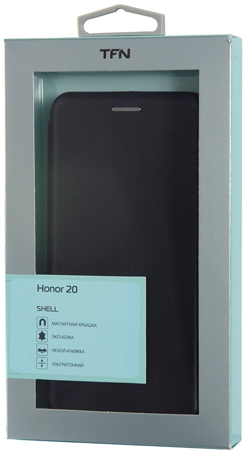 Чехол-книжка TFN ShellCase Honor 20/Huawei Nova 5T Black фото