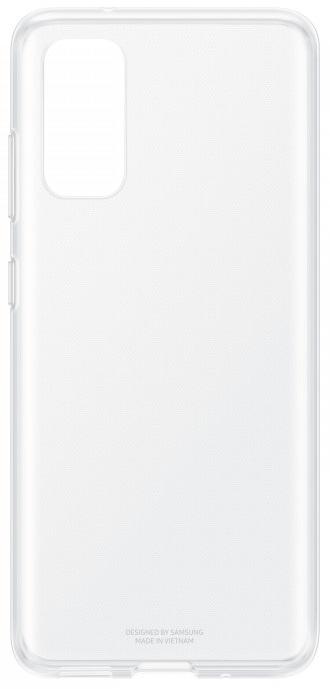 Клип-кейс Samsung Galaxy S20 силиконовый прозрачный (EF-QG980TTEGRU) фото