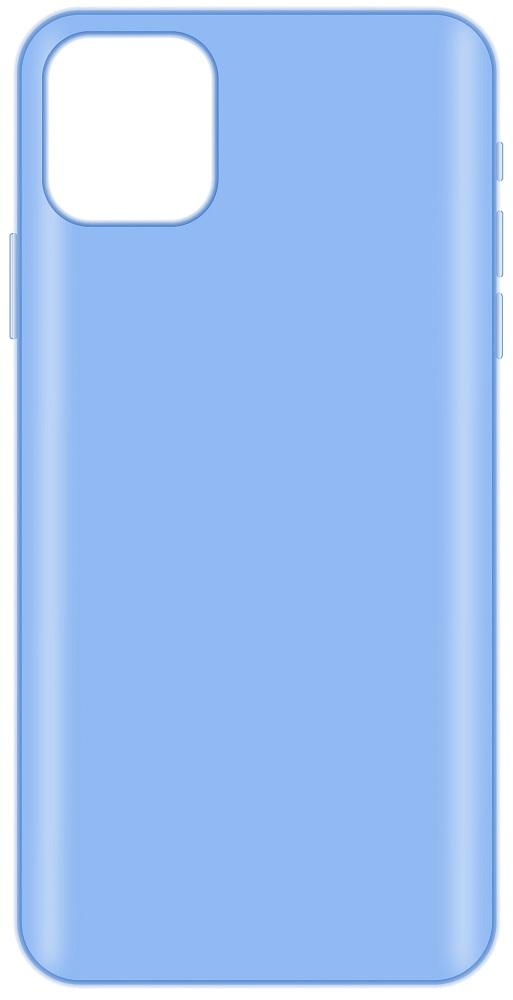 Клип-кейс LuxCase iPhone 11 Pro прозрачный Blue фото