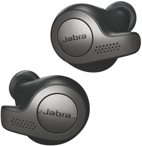 Гарнитура Jabra TWS Elite 65T Bluetooth black все цены