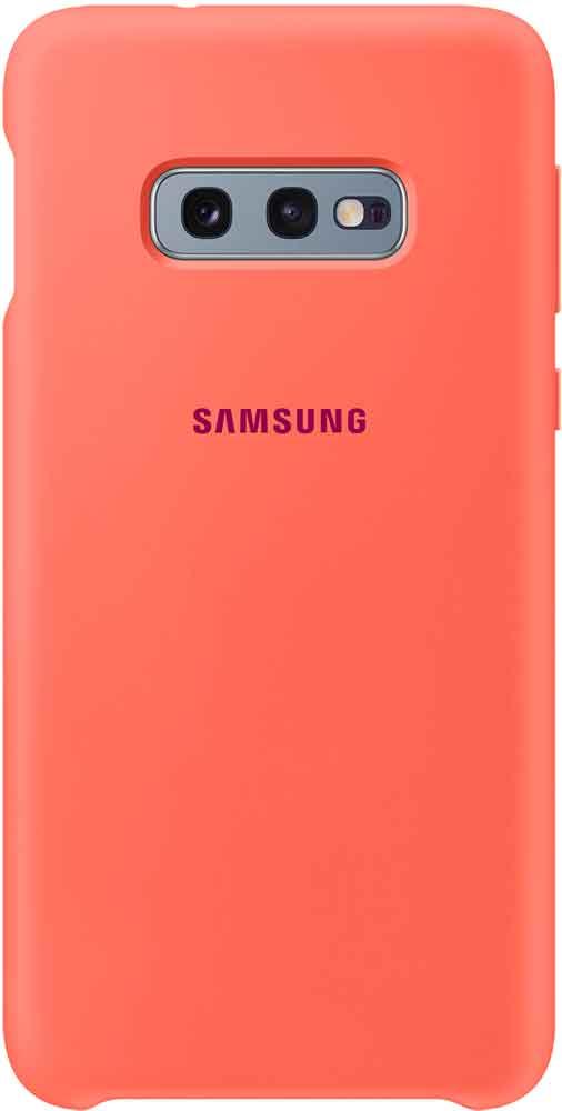 Клип-кейс Samsung Galaxy S10e TPU EF-PG970T Pink клип кейс samsung dual layer ef pj330 для galaxy j3 2017 голубой