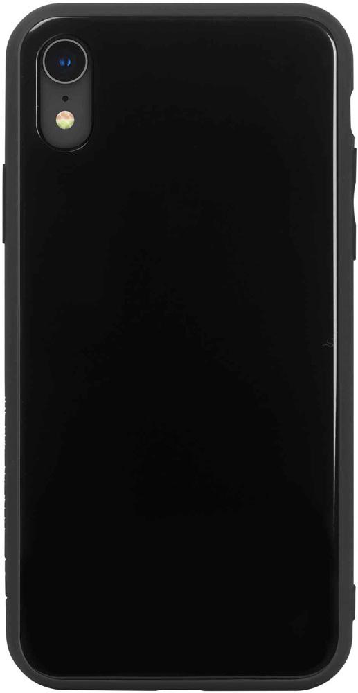 Клип-кейс Hardiz Apple iPhone XR Glass Black аксессуар чехол для apple iphone xr hardiz glass case white hrd811700