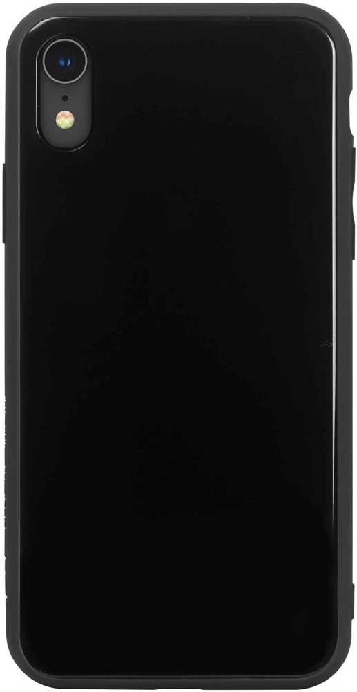 Клип-кейс Hardiz Apple iPhone XR Glass Black клип кейс inoi prism для apple iphone xr серебристый
