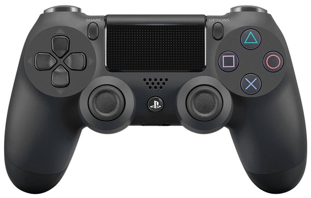 Беспроводной контроллер Sony DualShock 4 для PlayStation Black refurbished sony playstation 3 dualshock wireless controller
