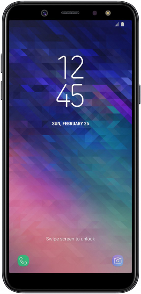 Смартфон Samsung A605 Galaxy A6+ (2018) Black SM-A605FZKNSER