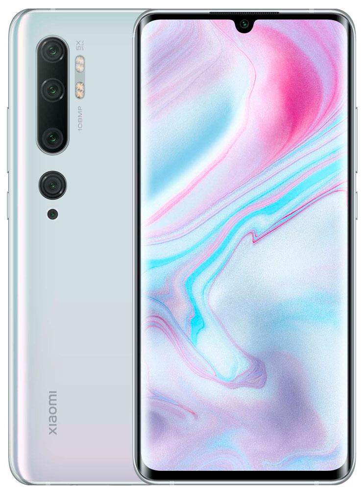 Смартфон Xiaomi Mi Note 10 Pro 8/256Gb Glacier White фото