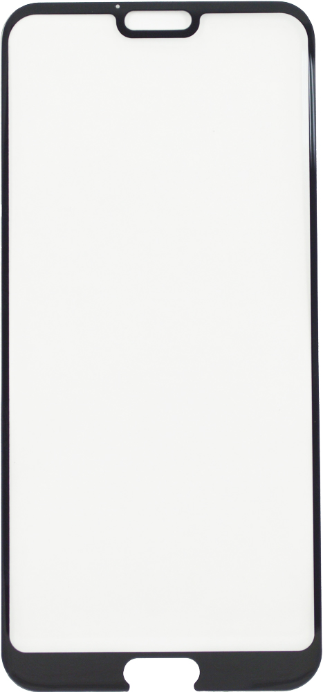 Стекло защитное LuxCase Honor 10 3D черная рамка стекло защитное luxcase iphone 11 pro max 3d silicone frame черная рамка
