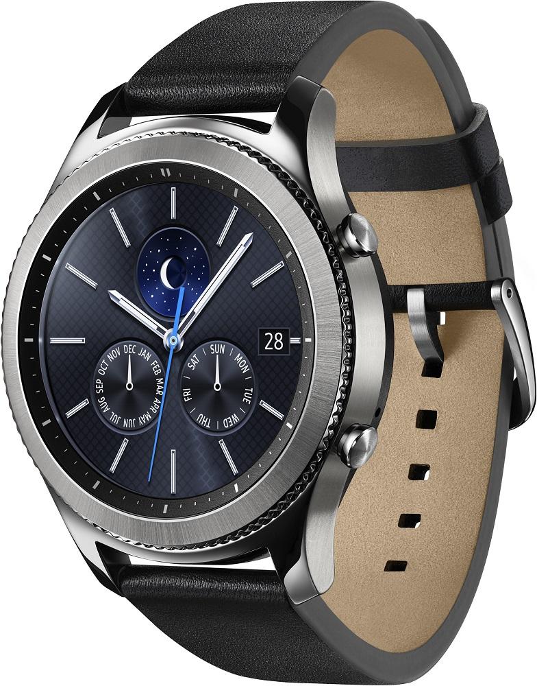 Часы Samsung Gear S3 Classic SM-R770NZSASER хромированная сталь